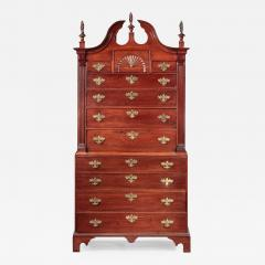 CHIPPENDALE CHEST ON CHEST - 1666614