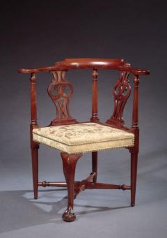 CHIPPENDALE CORNER CHAIR - 1139808