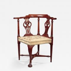CHIPPENDALE CORNER CHAIR - 1140628