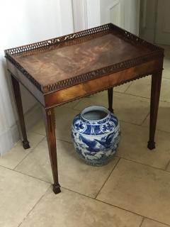 CHIPPENDALE SILVER TABLE ENGLISH CIRCA 1770 - 2117137