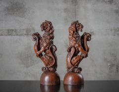 CONTINENTAL CARVED LIONS - 1018496