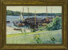 Cadwallader Lincoln Washburn From the Veranda East Boothbay Maine  - 350000