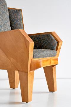 Camillo Cerri Camillo Cerri Important Cubist Armchair Designed for Haus Reinbach 1928 - 1083979
