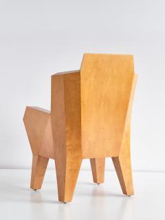 Camillo Cerri Camillo Cerri Important Cubist Armchair Designed for Haus Reinbach 1928 - 1083980