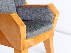 Camillo Cerri Camillo Cerri Important Cubist Armchair Designed for Haus Reinbach 1928 - 1083985