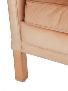 Caramel Leather Sofa - 740285