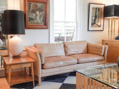 Caramel Leather Sofa - 740287