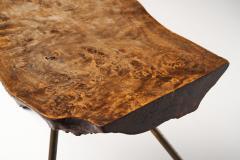 Carl Aub ck Carl Aubo ck Tree Trunk Coffee Table in Walnut Austria ca 1955 - 1317930