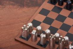 Carl Aub ck Modernist Chess Set 5606 by Carl Aub ck - 1128451