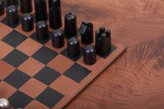 Carl Aub ck Modernist Chess Set 5606 by Carl Aub ck - 1128452