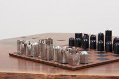 Carl Aub ck Modernist Chess Set 5606 by Carl Aub ck - 1128457