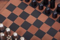 Carl Aub ck Modernist Chess Set 5606 by Carl Aub ck - 1128459