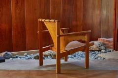 Carl Axel Acking Carl Axel Acking Trienna Chair in Patinated Brown Leather circa 1957 - 1134746