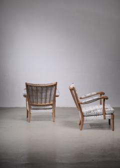 Carl Axel Acking Carl Axel Acking pair of armchairs 1930s - 1936172