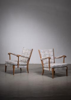 Carl Axel Acking Carl Axel Acking pair of armchairs 1930s - 1936173