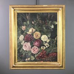 Carl Carlson 1853 1917 Danish Floral Still Life - 1702691