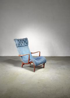 Carl Cederholm Carl Cederholm easy chair Sweden 1940s - 1116369