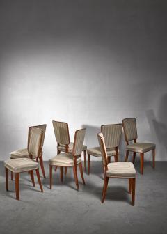 Carl Cederholm Carl Cederholm set of seven dining chairs Sweden - 1247267