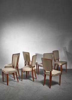 Carl Cederholm Carl Cederholm set of seven dining chairs Sweden - 1247268