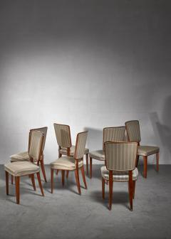 Carl Cederholm Carl Cederholm set of seven dining chairs Sweden - 1247269
