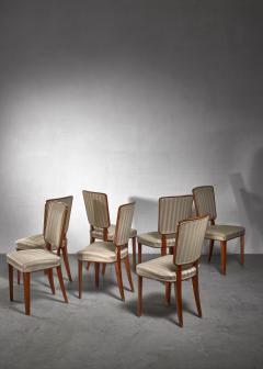 Carl Cederholm Carl Cederholm set of seven dining chairs Sweden - 1247270