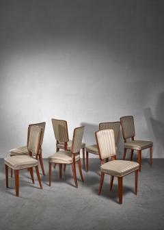 Carl Cederholm Carl Cederholm set of seven dining chairs Sweden - 1247271