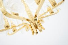 Carl Fagerlund Brass and Murano Glass Chandelier 1960s - 2025510
