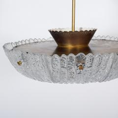 Carl Fagerlund Carl Fagerlund large ceiling lamp for Orrefors - 1948615