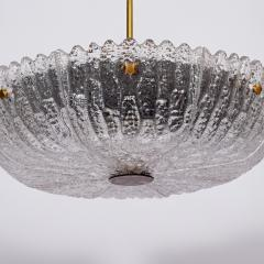 Carl Fagerlund Carl Fagerlund large ceiling lamp for Orrefors - 1948616