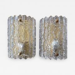 Carl Fagerlund Large Sconces by Orrefors - 1093620