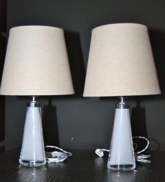 Carl Fagerlund Pair of Lamps Carl Fagerlund for Orrefors - 1332127