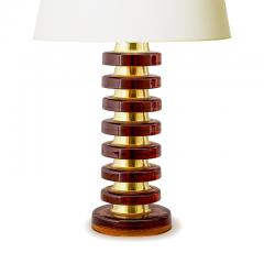 Carl Fagerlund Pair of Whiskey Crystal Lamps by Carl Fagerlund for Orrefors - 1502846
