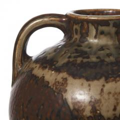 Carl Halier Large amphora form vase with Sung glaze by Carl Halier - 1180866