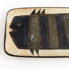 Carl Harry St lhane CARL HARRY STALHANE ANNE LAUKKANEN FISH PLATE RORSTRAND Sweden - 1685297
