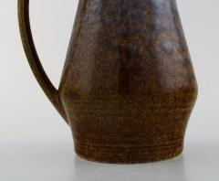 Carl Harry St lhane Jug with lid in glazed stoneware - 1370752