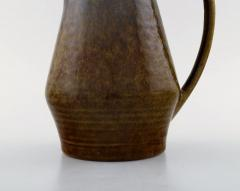 Carl Harry St lhane Jug with lid in glazed stoneware - 1370965