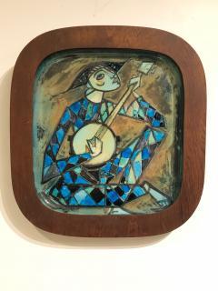 Carl Harry St lhane Rare and Unique Ceramic Plaque by Carl Harry St lhane for R rstrand - 1608764