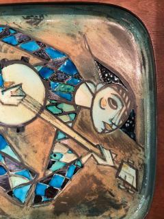 Carl Harry St lhane Rare and Unique Ceramic Plaque by Carl Harry St lhane for R rstrand - 1608767