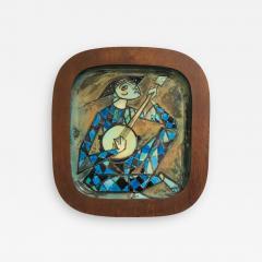 Carl Harry St lhane Rare and Unique Ceramic Plaque by Carl Harry St lhane for R rstrand - 1610487