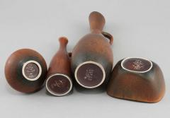 Carl Harry St lhane Set of Stoneware by Carl Harry Stalhane - 1358402