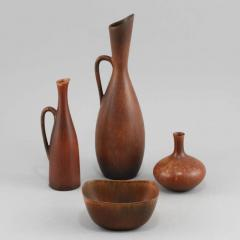 Carl Harry St lhane Set of Stoneware by Carl Harry Stalhane - 1358403
