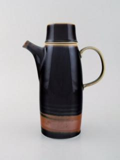 Carl Harry St lhane Viking coffee pot and four coffee cups - 1412669
