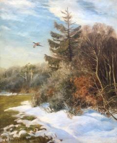 Carl Hoyrup Pheasant in Flight  - 1129499