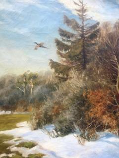 Carl Hoyrup Pheasant in Flight  - 1129502