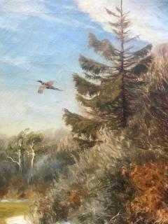 Carl Hoyrup Pheasant in Flight  - 1129503