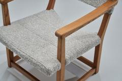 Carl Malmsten A Pair of Carl Malmsten H ngsits Armchairs Sweden 1947 - 1696897
