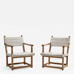 Carl Malmsten A Pair of Carl Malmsten H ngsits Armchairs Sweden 1947 - 1698400
