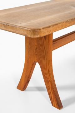 Carl Malmsten Bench and Dining Table Produced in Sweden - 1860715