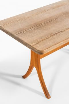 Carl Malmsten Bench and Dining Table Produced in Sweden - 1860716