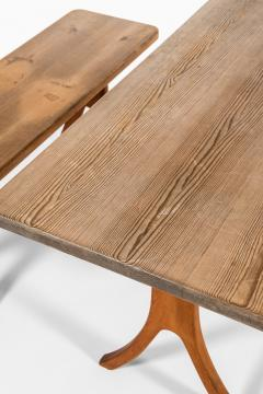 Carl Malmsten Bench and Dining Table Produced in Sweden - 1860717